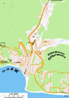 Квартира на Чёрном море Ольгинка (Туапсе) 600м пляж