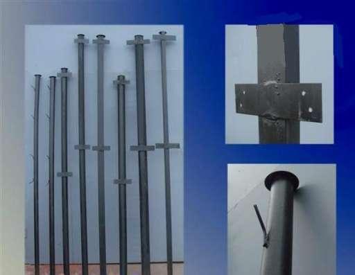 Столбы металлические с крючками и планками в г. Минск Фото 1