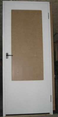 Тамбурные двери из ДВП(оргалитовые) в Тюмени Фото 1
