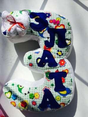 Мягкие буквы подушки для детей и взрослых в Перми Фото 2