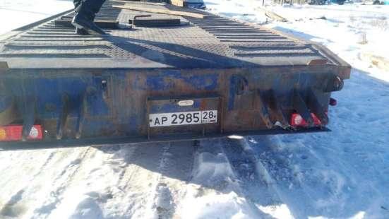 Полуприцеп-трал Tongyada CTY9380TDP, 2013г. в.60 тонн