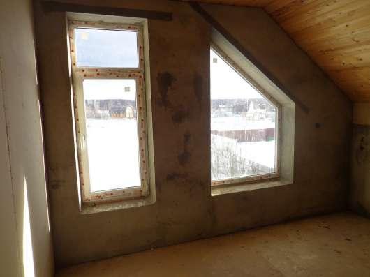 Дача 2-этажа, 160 кв. м пеноблок. Без отделки в г. Михнево Фото 4