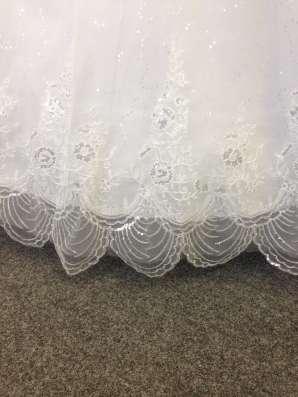 Супер красивое и яркое свадебное платье в Москве Фото 1