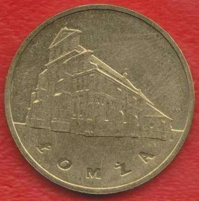 Польша 2 злотых 2007 г. Серия Древние города Ломжа