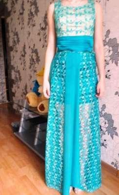 Платье на выпускной 2в1