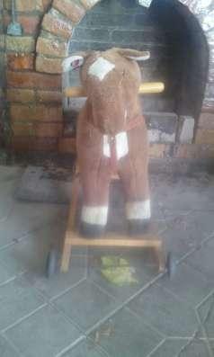 Игрушка скаковая лошадь в г. Нальчик Фото 1