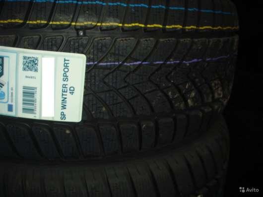 Новые Dunlop 235 55 R17 Winter Sport 4D 99V в Москве Фото 1