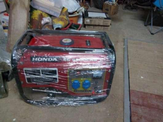 Бензогенератор Honda EG 5500CXS