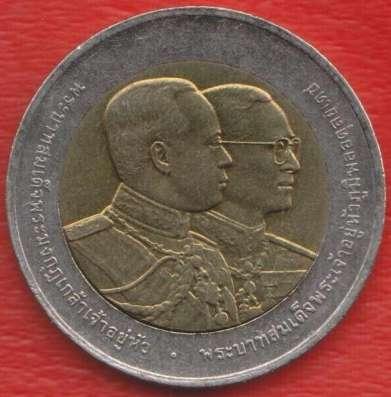 Таиланд 10 бат 2002 г. 90 лет Медицинскому училищу Вачира в Орле Фото 1