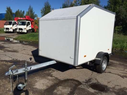 Изотермический легковой прицеп 2.5х1.5м