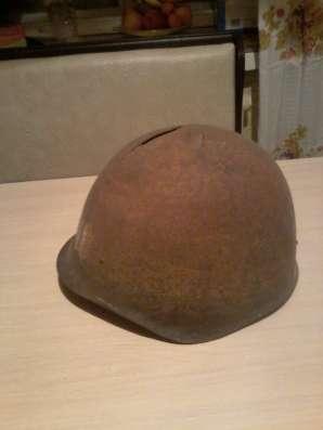 Советская каска времён ВОВ
