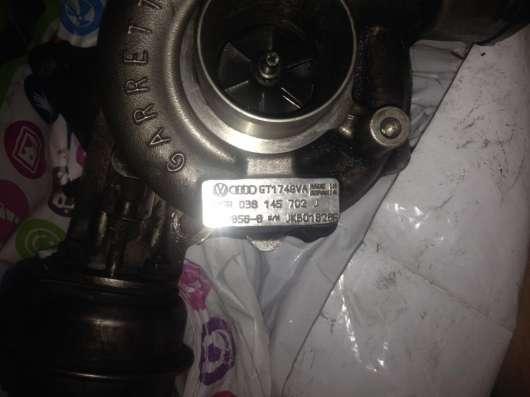 Турбина Ауди а4 двигатель 1.9 TDI