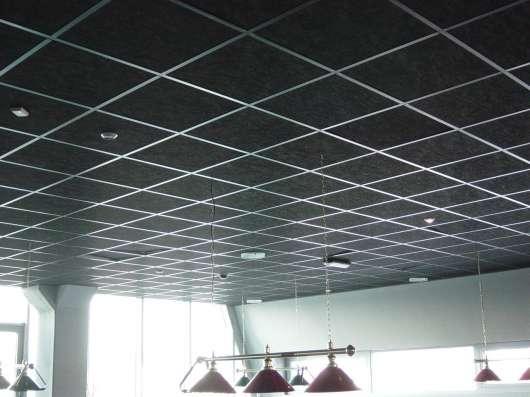 Подвесной потолок Армстронг в Новосибирске Фото 1