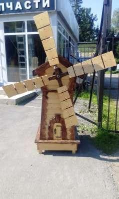Декоративная мельница в Москве Фото 1