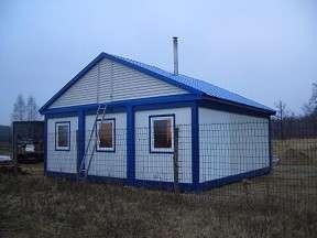 Бытовки строительные, дачные, модульные дома