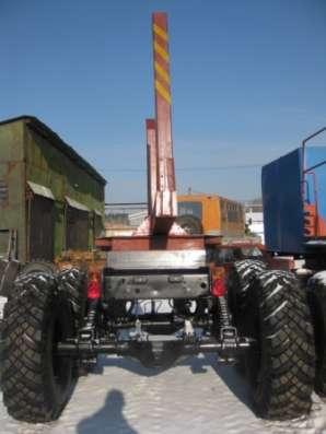 прицеп-роспуск для лесовозного тягача Урал