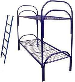 Металлические кровати с ДСП спинками для больниц, кровати для гостиниц, кровати для студентов, кровати для пансионатов. в Сочи Фото 3