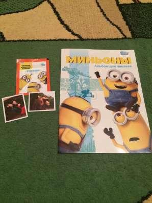 Коллекция наклеек TOOPS Миньоны (альбом + блок) в г. Днепропетровск Фото 5