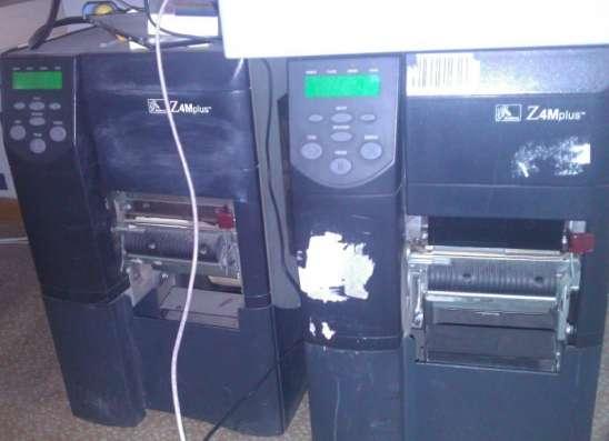 Принтер zebra z4m plus
