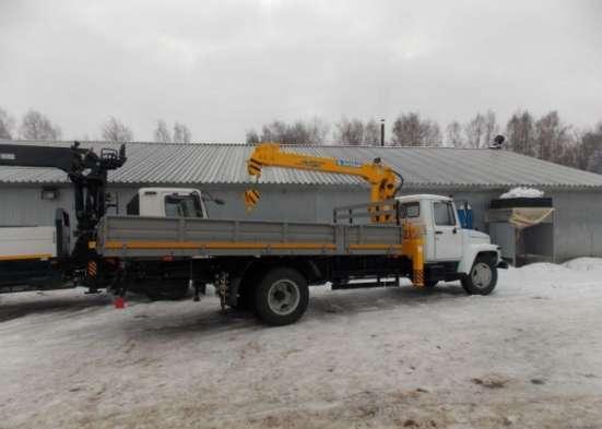 "Газ 3309 ""Газон"" борт 5 метров с кму soosan 334"