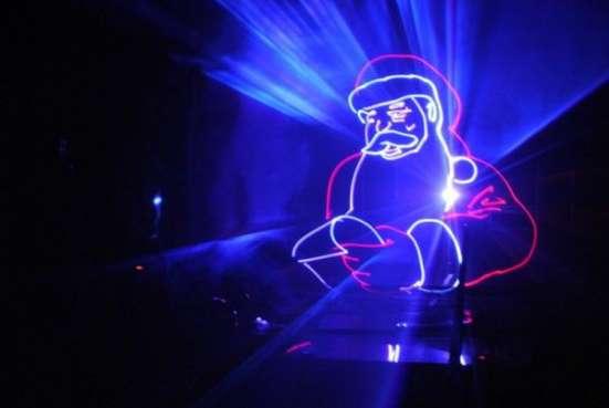Новогоднее лазерное шоу! в Красноярске Фото 1
