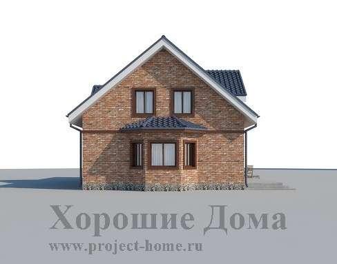 Строительство дома из газобетона 9.46x13.05 199.3 кв. м в Москве Фото 2