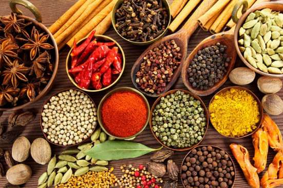 Специи, приправы и соусы