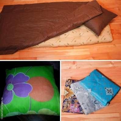 Матрац, подушка и одеяло, доставка бесплатная