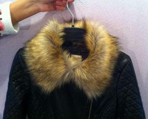 Куртка кожанка новая демисезонная
