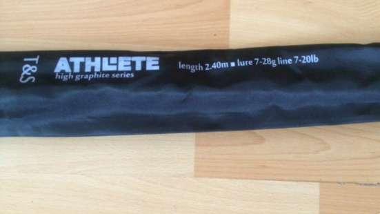 Спиннинг США Athlete 2,4 м., 7-28 гр., новый