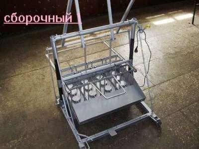 Шлакоблочный станок вибропресс Команч