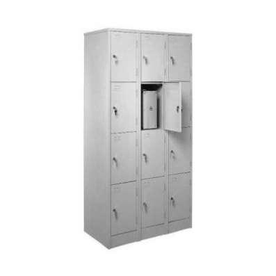 Металлический шкаф для сумок (сумочница)