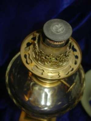 старинная керосиновая лампа,19век