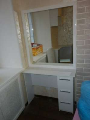 Туалетный столик + зеркало Скат Столик + Зеркало