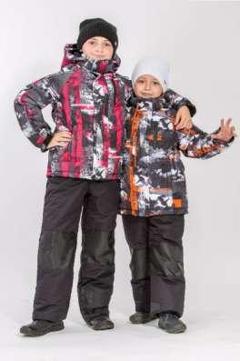 Детский зимний костюм для прогулок М-154