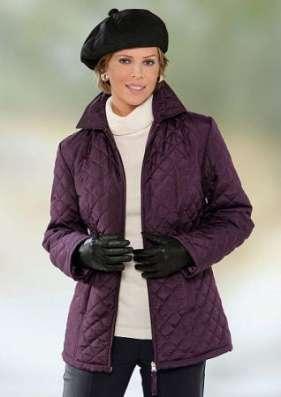 Модная, стеганая куртка под заказ из Германии