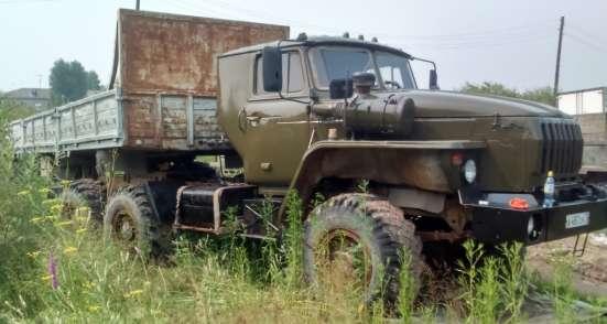 Продам тягач седельный Урал с прицепом