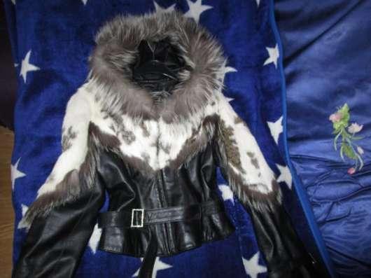 Новая лайк. кожа-куртка и плащ-транформер
