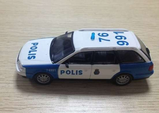 полицейские машины мира №38 AUDI A6 AVANT полиция швеции в Липецке Фото 2