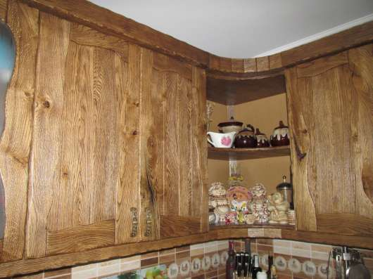 Заказать кухню с массива ясеня в Киеве,Сумах,Украине,недорог Фото 1