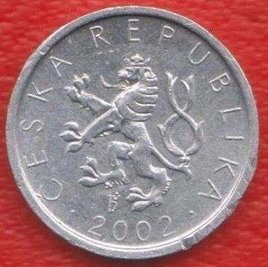 Чехия 10 геллеров 2002 г. в Орле Фото 1