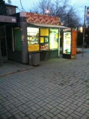 остановочный киоск общественного питания