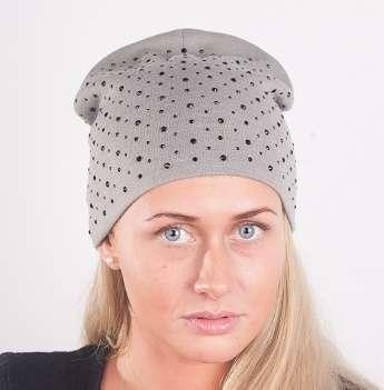Женская трикотажная шапка мод. 442