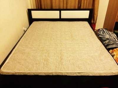 Кровать +Ортопедический матрас SwissHome