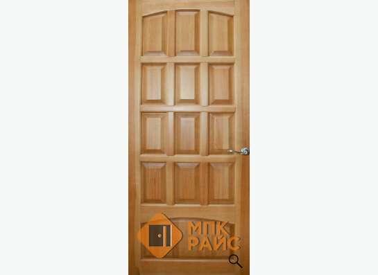 Двери деревянные из массива сосны