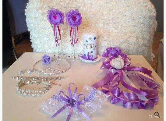 Свадебные бокалы, домашний очаг, свадебные украшения, сирене в Новосибирске Фото 1