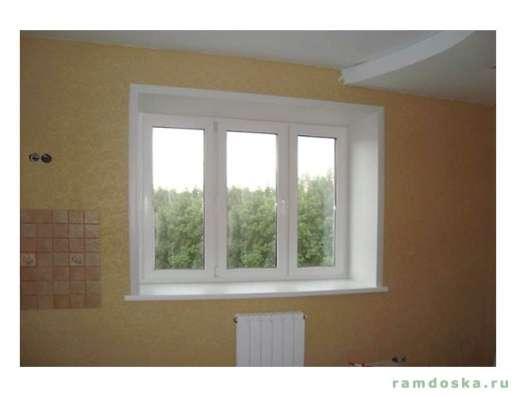 Остекление пвх, алюм, отделка балконов, Окна двери в Балашихе Фото 1