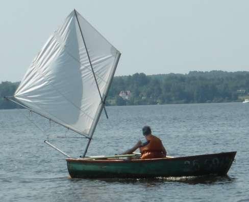 Подвесной парус для лодок и катеров