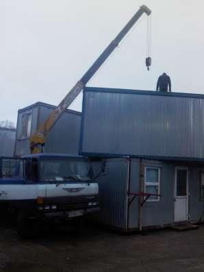 Бытовка (блок-контейнер) строительная в Москве Фото 1