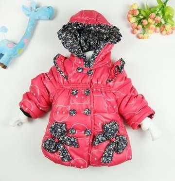 Детская розовая курточка, размер 4Т на рост 95-105см